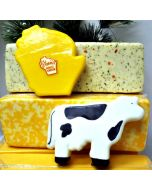Cow & Wisconsin Shaped Mild Cheddar